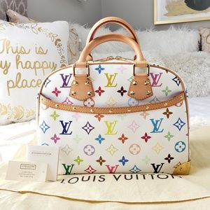 LOUIS VUITTON Multicolor Monogram Trouville Bag